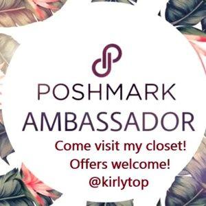 Poshmark Ambassador!  Offers Welcome!